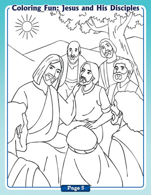 Jesús y sus discípulos title=Jesús y sus discípulos